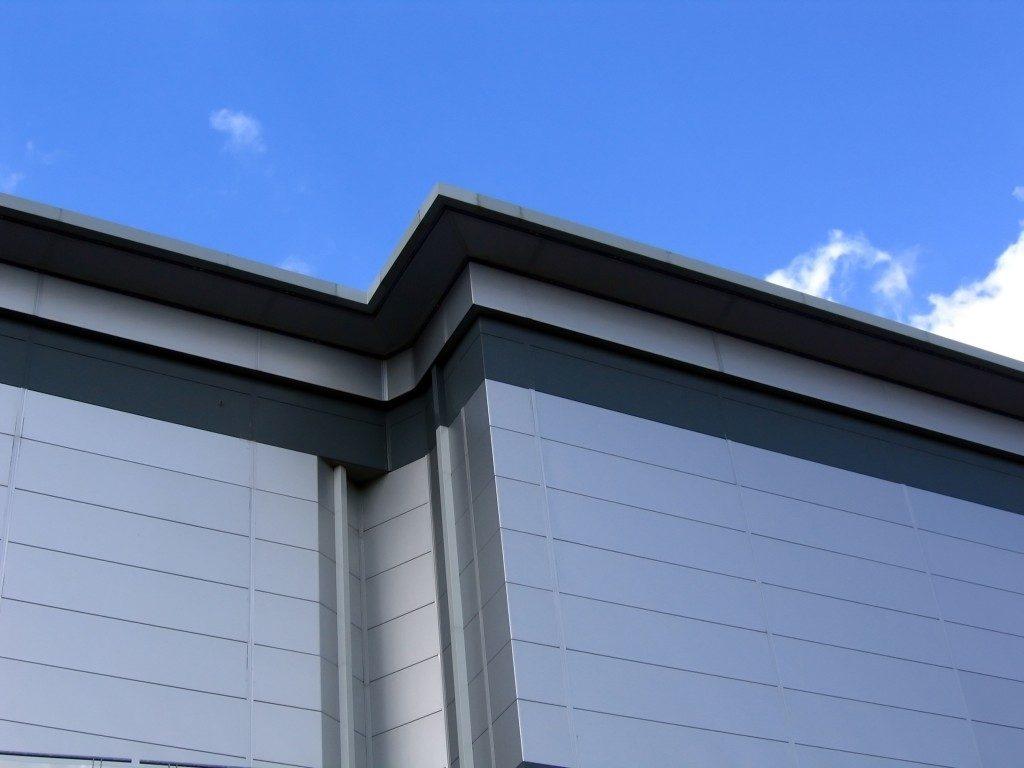 Aluminum clad building