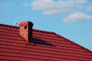 Chimney red roof