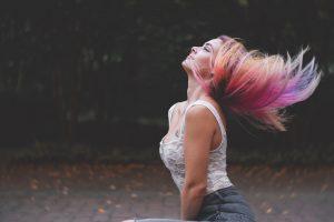 Fine Featherhead's TINT hair chalk