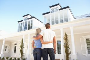 couple looking at dream home