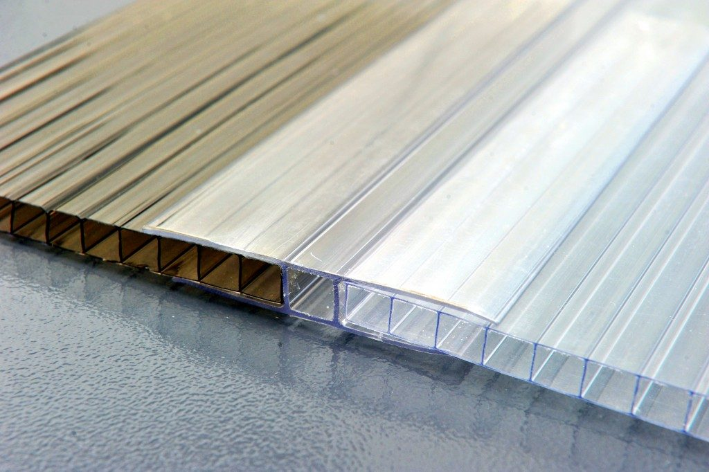 Sheet of polycarbonate