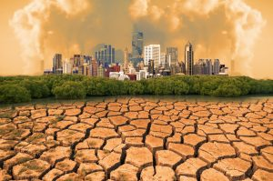 air pollution and drought in the city