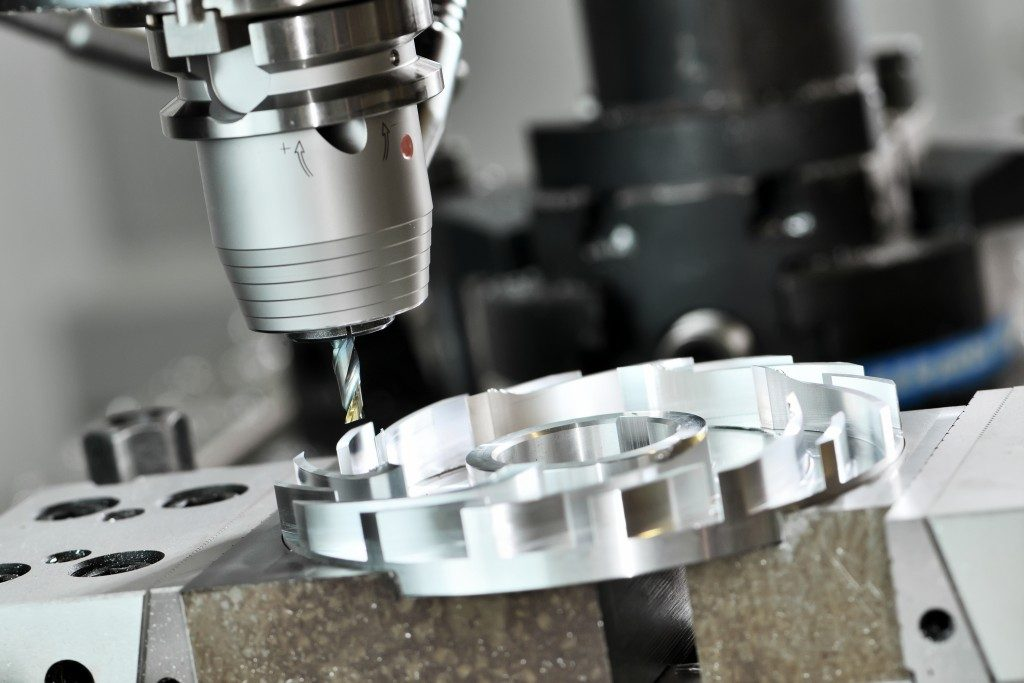 zoom in on CNC machining