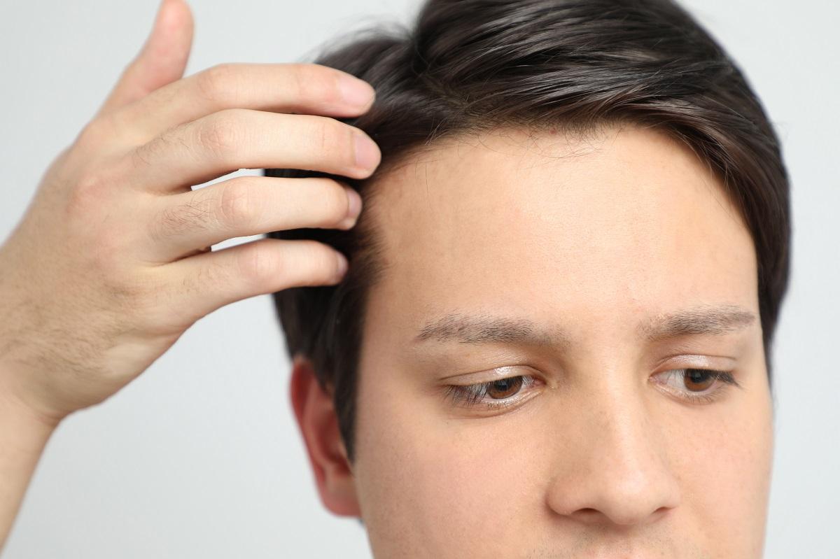 guy's hair
