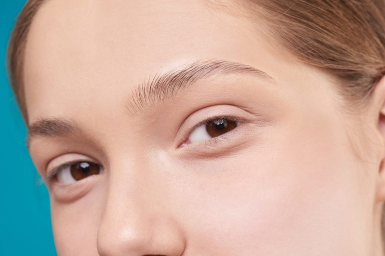 Close up of skin
