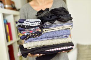 Decluttering items