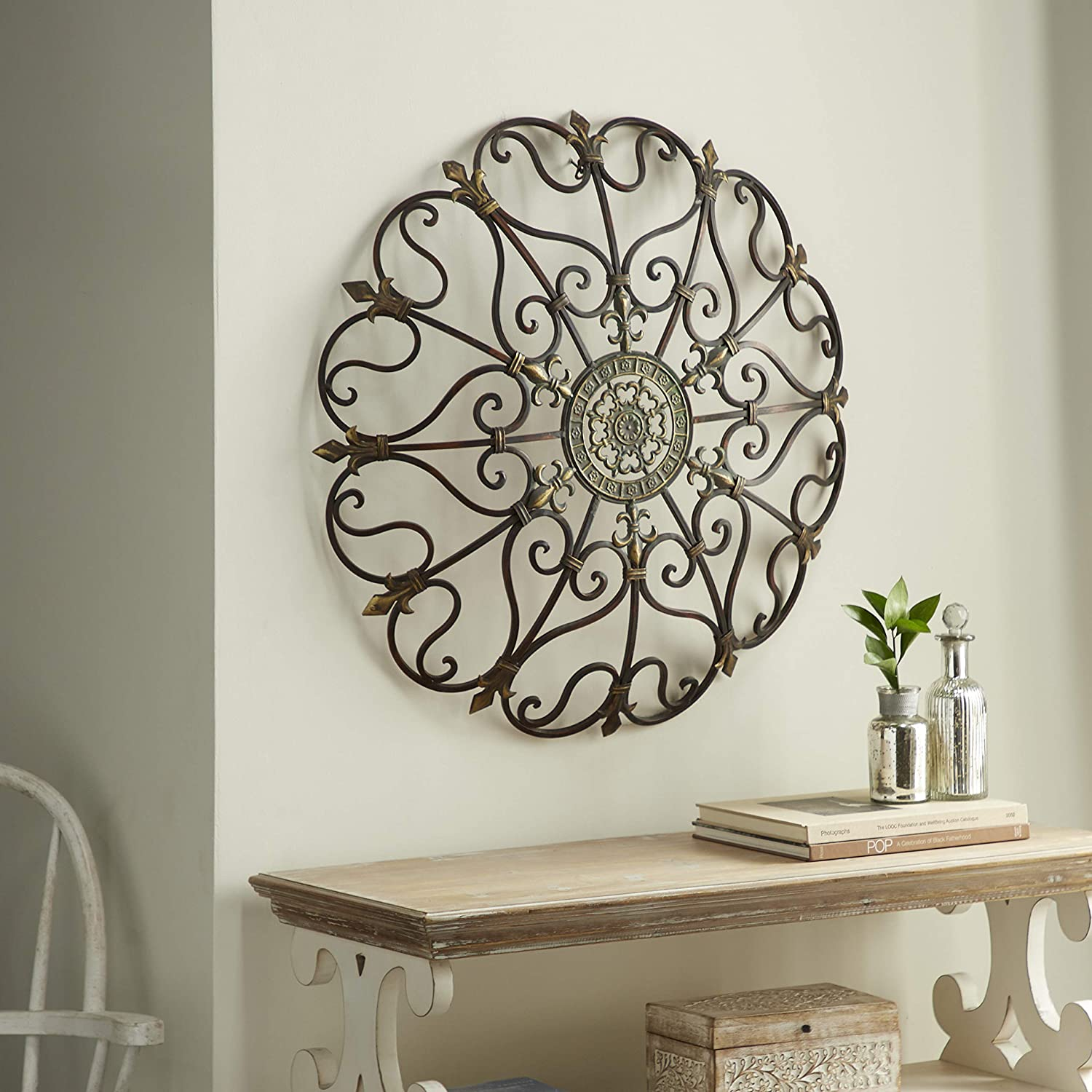 copper-and-gold-metal-wall-art