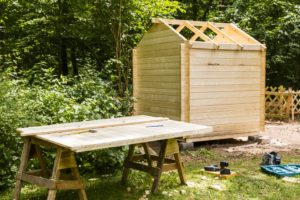garden shed construction