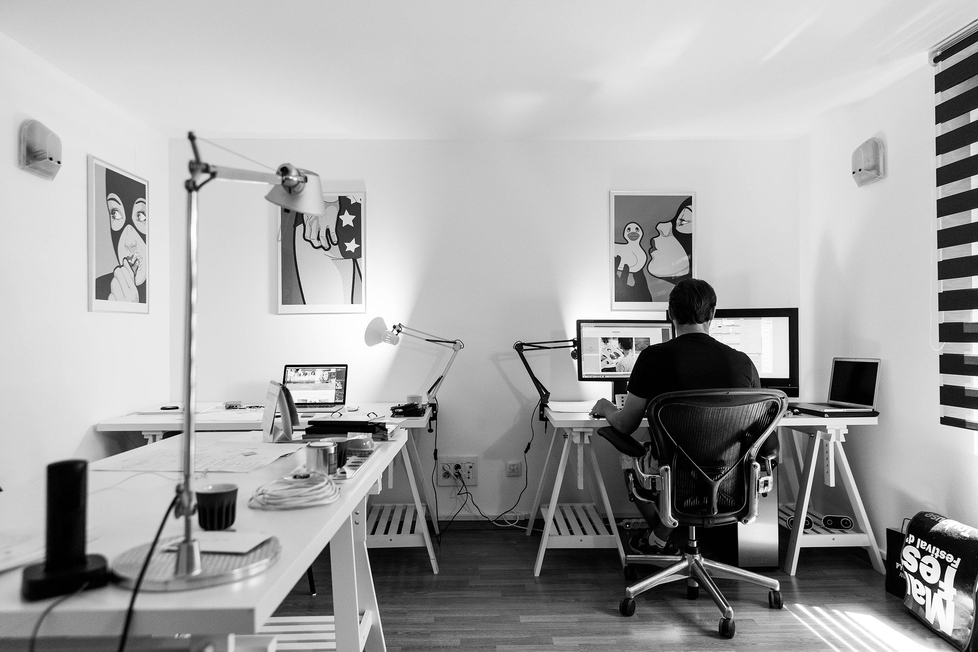 guy-working-in-his-home-office