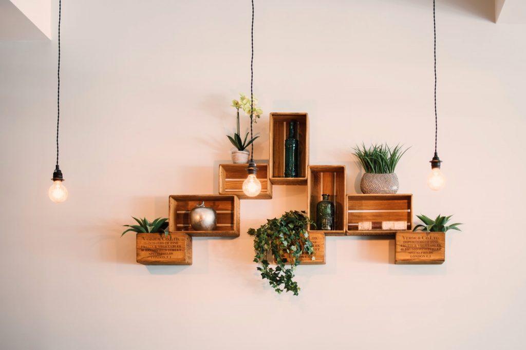 aesthetic shelf